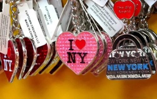אני אוהב את ניו יורק מחזיק מפתחות