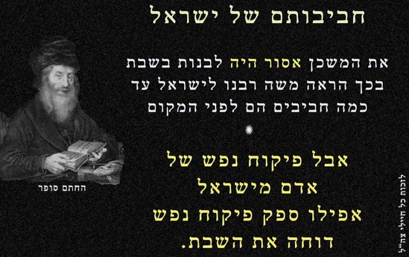 חביבותם של ישראל