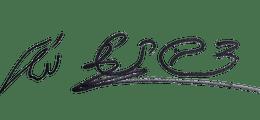 חתימה של צביקה ומיטל