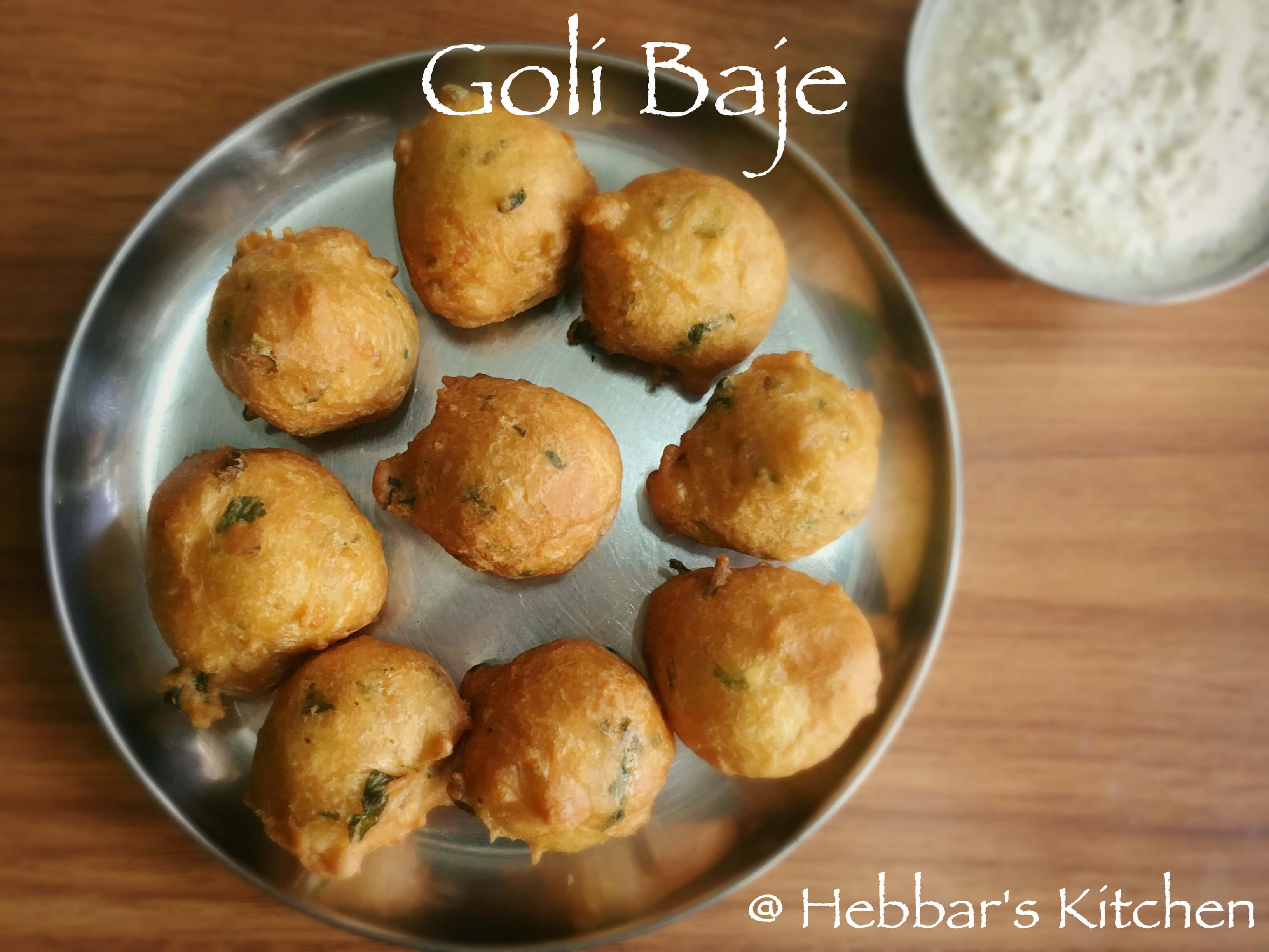 Goli Baje Hebbar S Kitchen