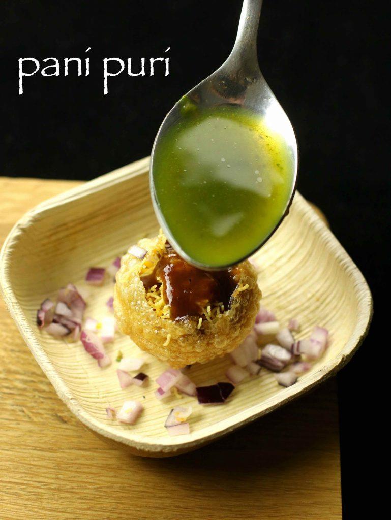 Pani Puri Recipe Golgappa Recipe Puchka Recipe Hebbar S Kitchen From The Horse S Mouth
