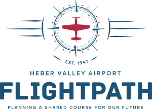Heber Valley Flightpath Colored Logo