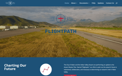 Website For Heber Airport Master Plan Process Takes Off