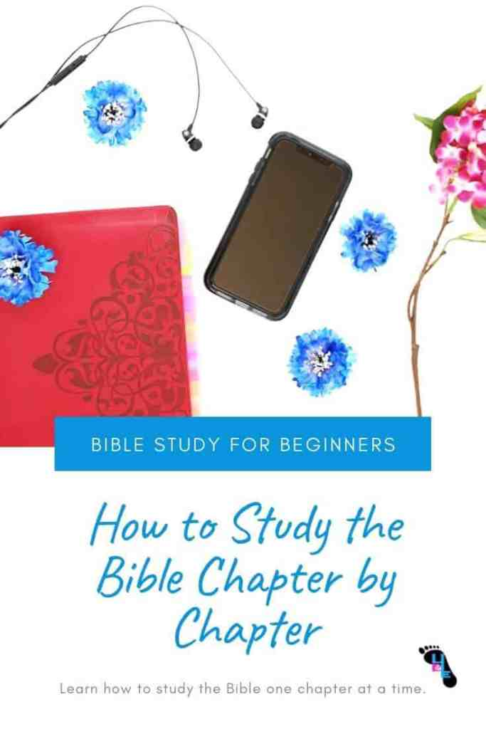 How to Study the Bible Chapter by Chapter