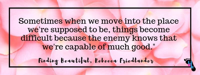 Finding Beautiful by Rebecca Friedlander quote