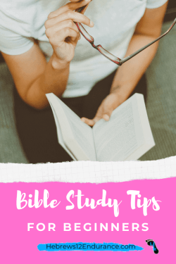 Bible Study Tips for Beginners