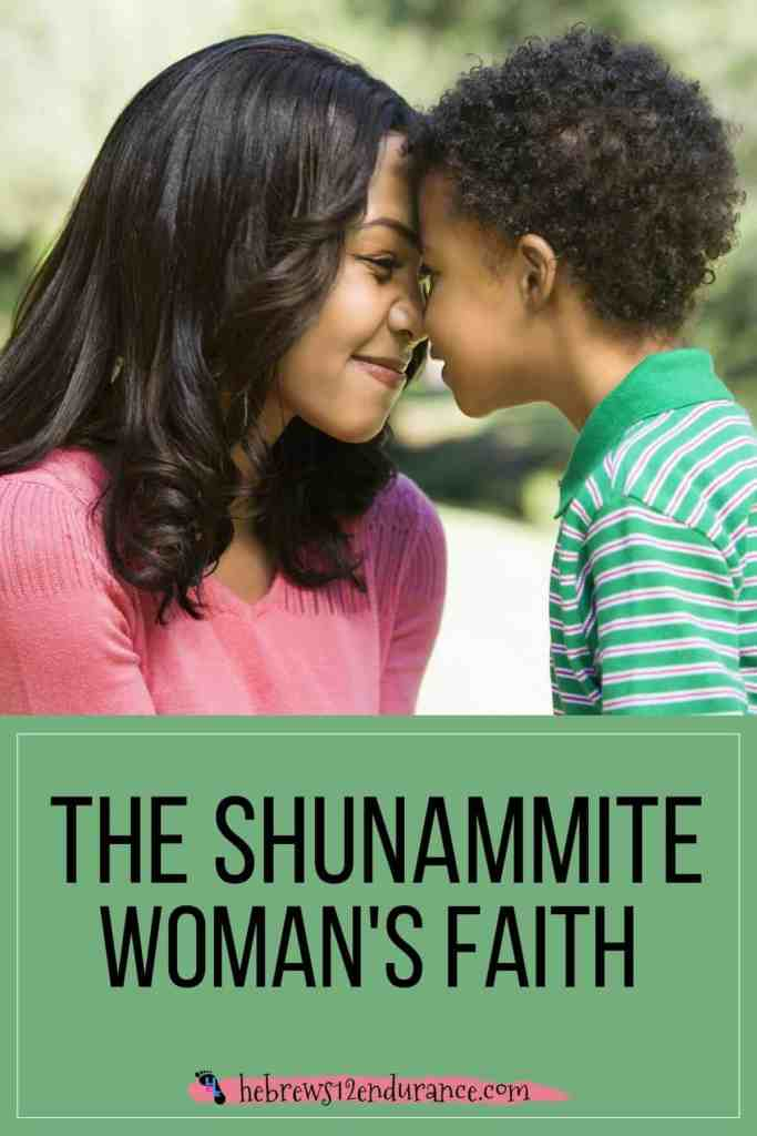 The Shunammite Woman's Faith