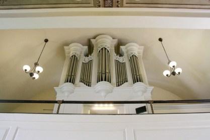 Tannenburg Organ at Hebron Lutheran Church in Madison, Virginia