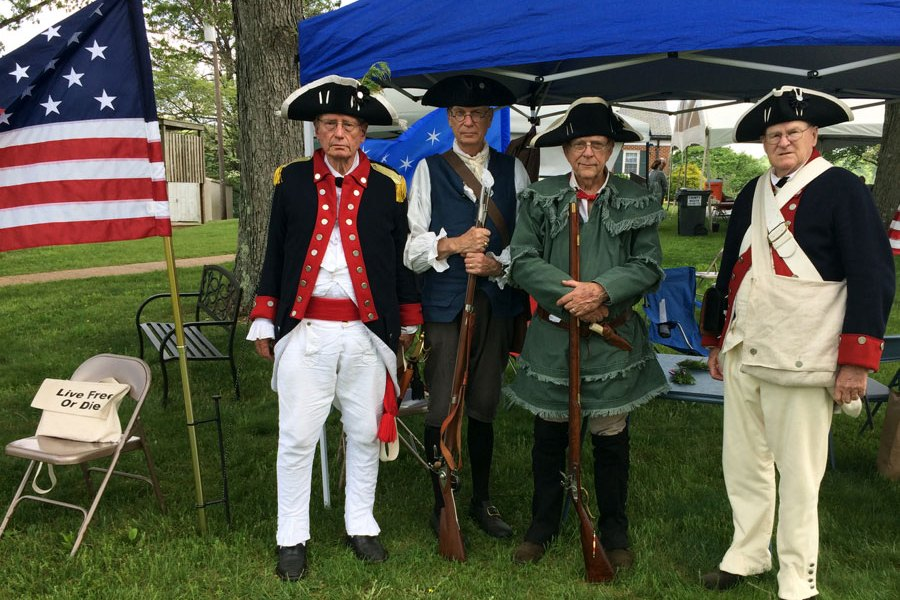 Sons of the American Revolution Attend Celebration