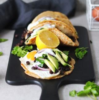 Pancake Breakfast Tacos