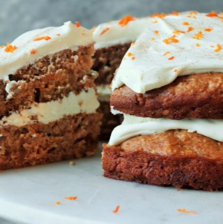 Wholesome Carrot Cake (Refined sugar free)
