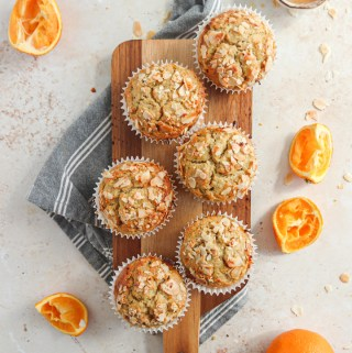 Buckwheat and Oat Orange muffins