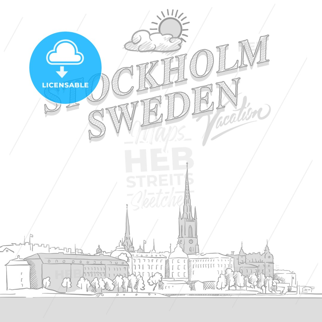 Stockholm travel marketing cover