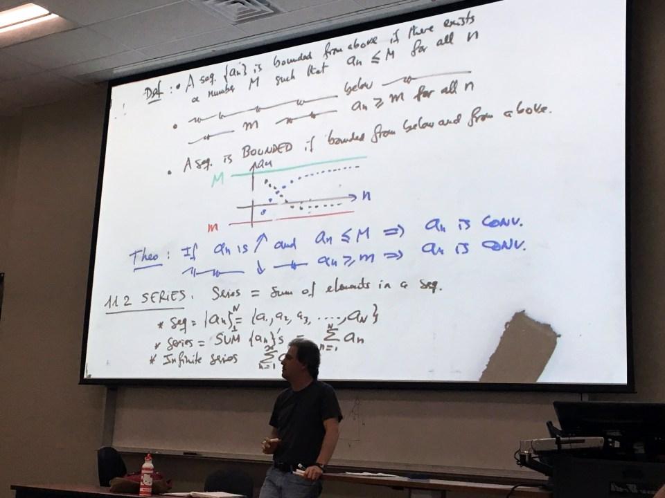 failing college math