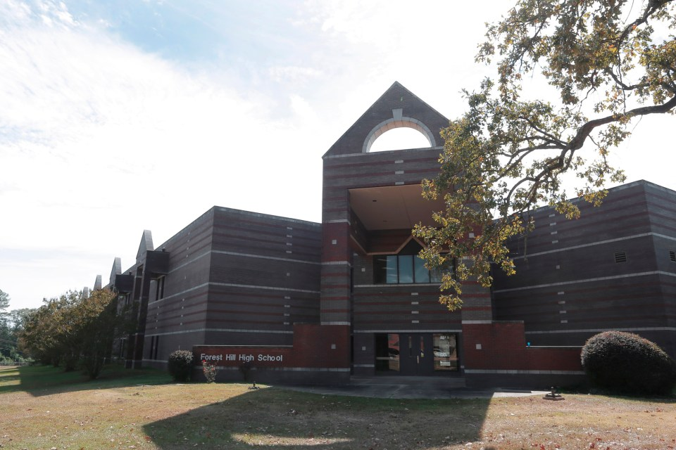 """Forest Hill High School is a picture of strength and prosperity, but it received an """"F"""" rating on its most recent state evaluation, as did almost a third of the schools in the Jackson school district."""
