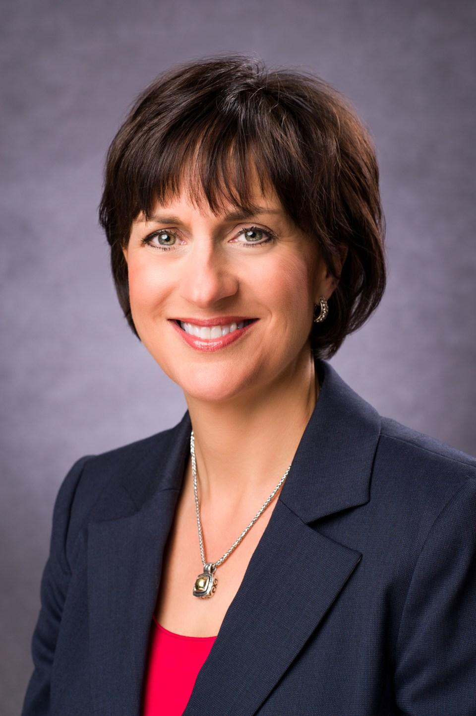 Portrait of Jeanne Allen, President of the Center for Education Reform.