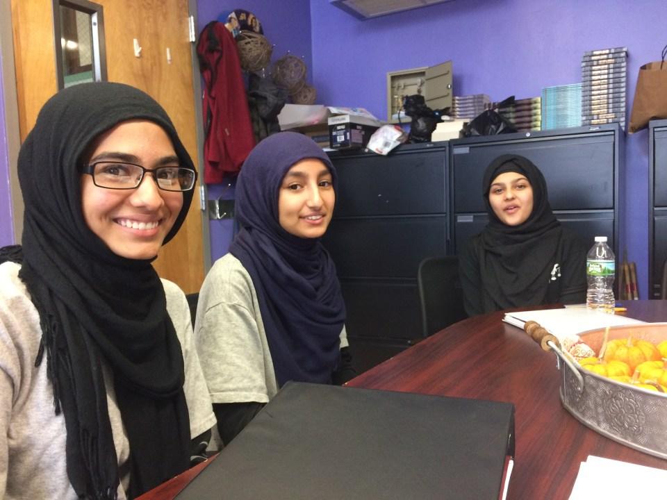 Muslim girls in America