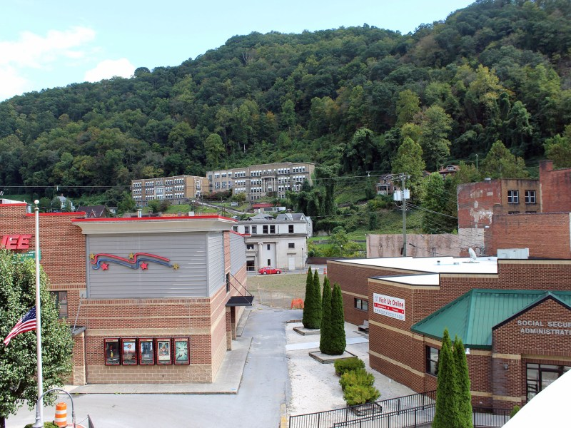 A vacant lot is all there is of a proposed multi-unit apartment complex for teachers and other professionals behind the Marquee Cinemas in Welch as Reconnecting McDowell works to renegotiate funds held up by the Trump administration.