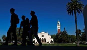 Latino students at Loyola Marymount University in California have an enviable 80 percent graduation rate, compared with 77 percent for white students.