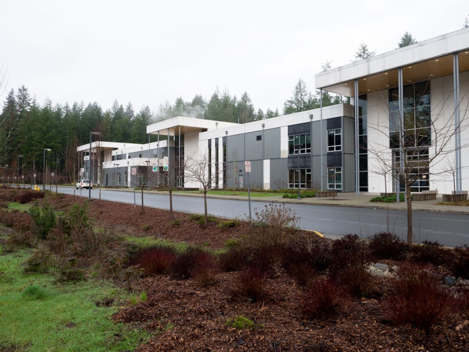 Tesla STEM High School serves nearly 600 students in Redmond's Lake Washington School District.