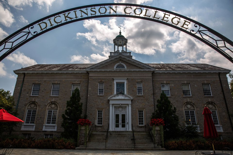 Dickinson College in Carlisle, Pennsylvania. Dickinson is among a growing number of colleges and universities that train their faculty to spot mental health issues and other problems that could derail students — something not traditionally considered their role.