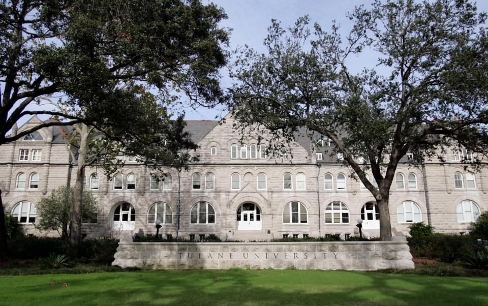 Tulane University in New Orleans, Louisiana.