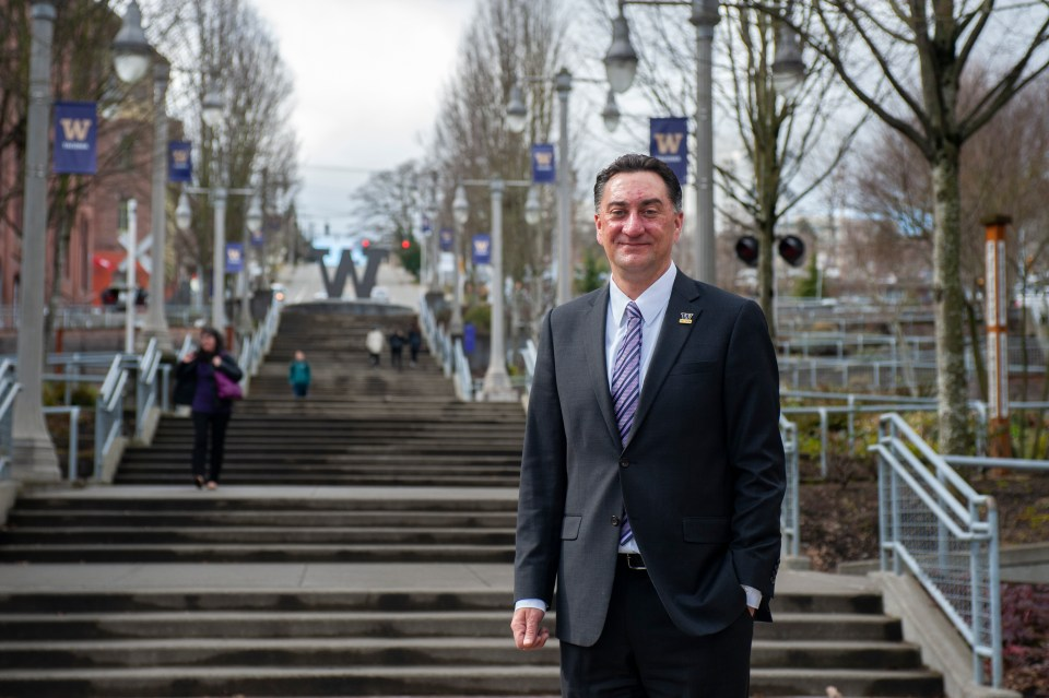 """Ed Mirecki, University of Washington-Tacoma's dean of students. """"Higher education is not a social service agency,"""" he says. """"But on the other hand, if we really are focused on increasing access and providing these [educational] opportunities for students, we have an obligation to help support their success."""""""