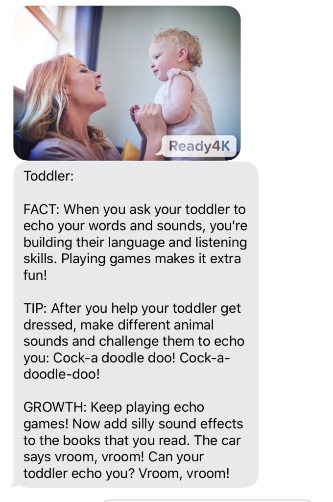 text message tips for parents