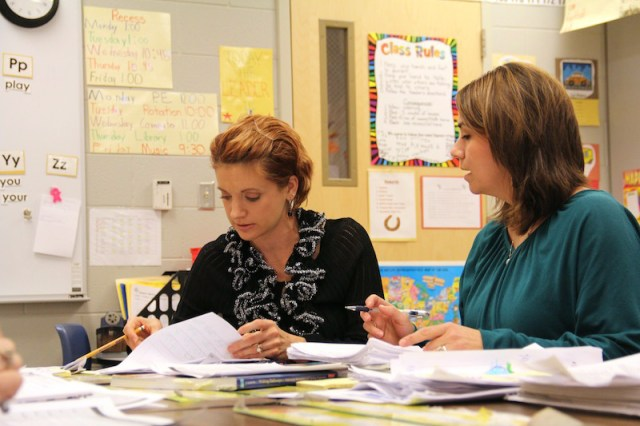 teacher vs. administrator