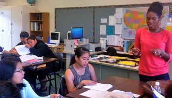Alexandria Neason taught English language arts at Leilehua High School in Wahiawa, Hawaii from 2011-2013 through Teach for America. She graduated from the same school in 2006.