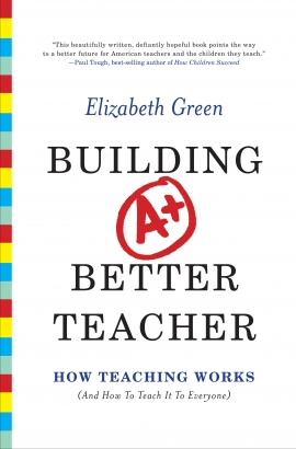 Click to read an Q&A with author Elizabeth Green.