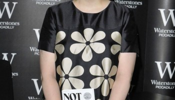 """Lena Dunham attends her """"Not That Kind Of Girl: A Young Woman Tells You What She's Learned"""" booksigning session (Rex Features via AP Images)"""