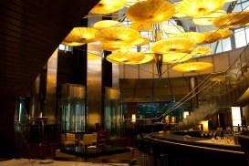 Interior restaurante submarino