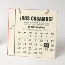 Invitación calendario (cosasdeboda.com)