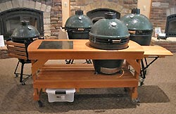 big green egg tables sale