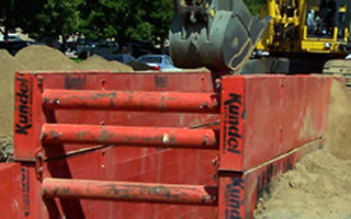 Kundel Steel Trench Box - Trench Boxes