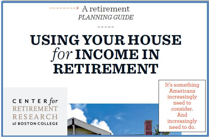 Using Home For Retirement Income