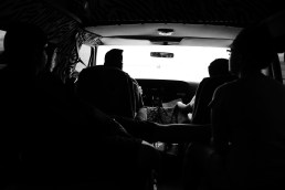I wanted to keep playing small towns. …and driving around in an old van. With my band mates…