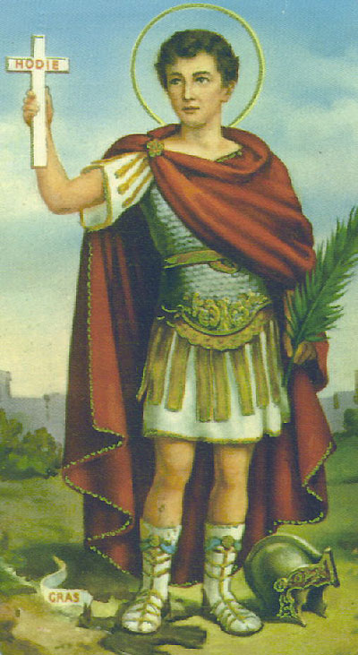 April 19th- Feast of St. Expedite