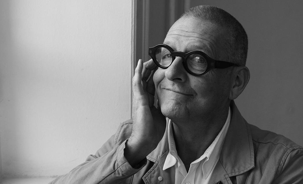Ruudt Peters, hoofddocent Gerrit Rietveld Academie (1990-2000), portret