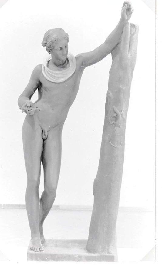 Caroline Broadhead, halssieraad, Visies op sieraden, Stedelijk Museum, 1982, gipsafgietsel, tentoonstelling, foto Liesbeth den Besten