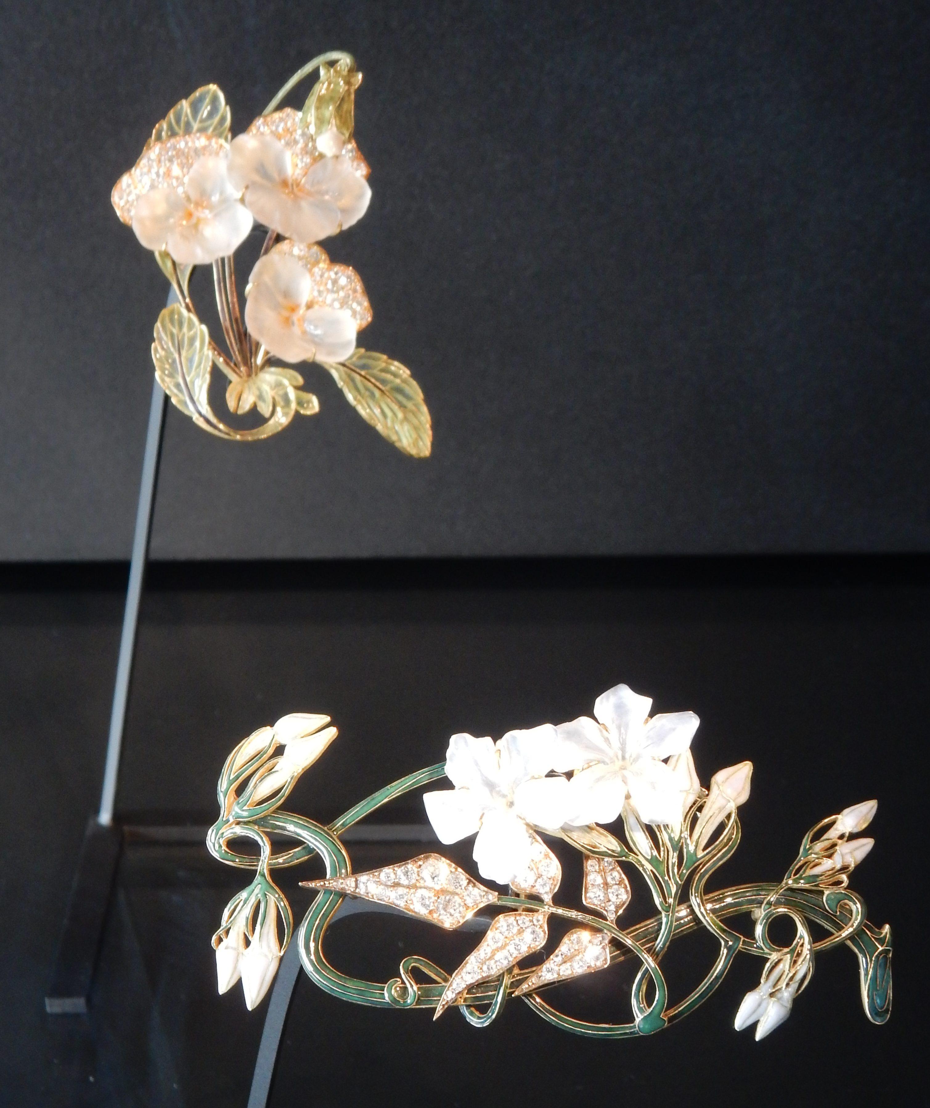 René Lalique, Musée Lalique, Wingen-sur-Moder, email , metaal