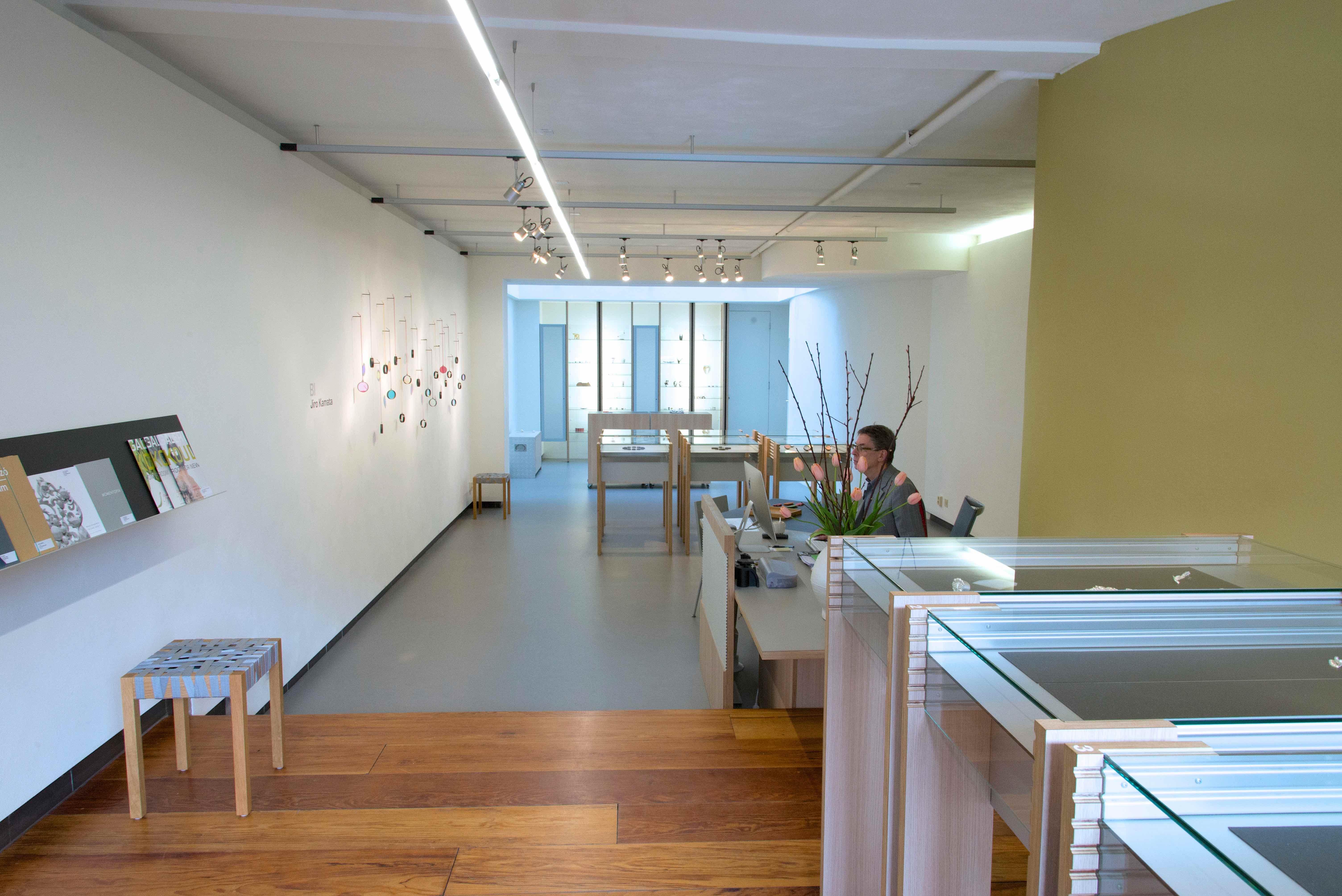 Galerie Rob Koudijs, interieur, 2014