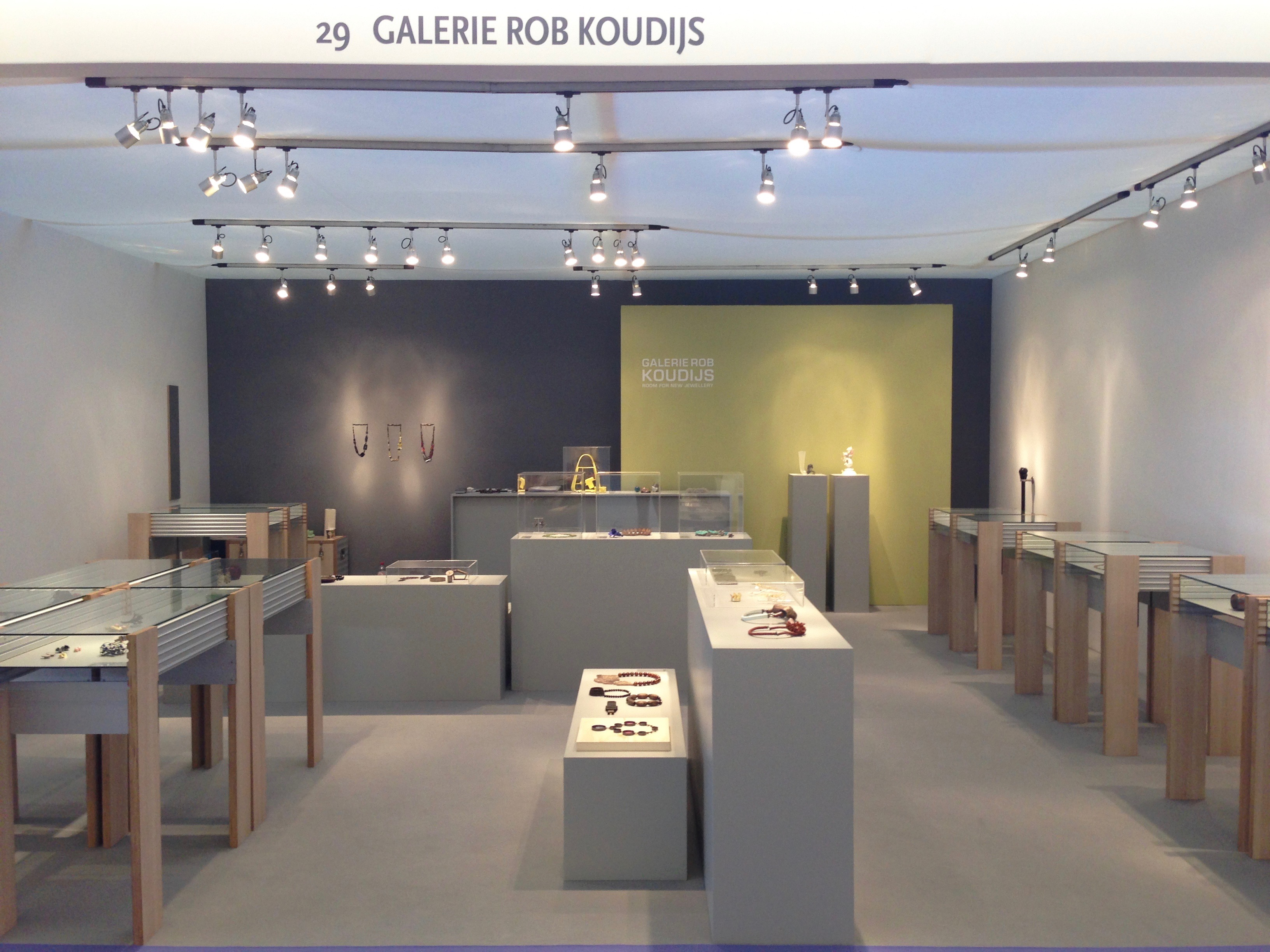 Galerie Rob Koudijs op PAN, 2015, beurs, Amsterdam, RAI