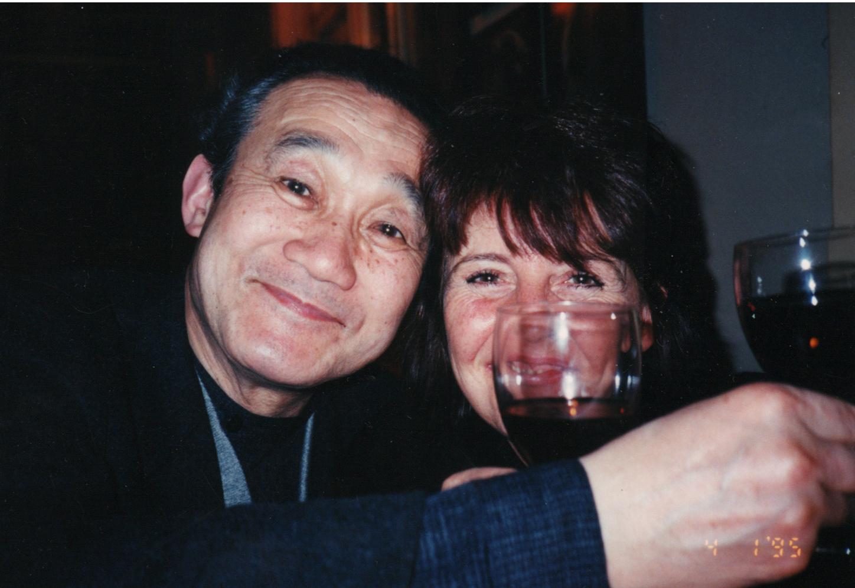 Yasuki Hiramatsu en Louise Smit, portret