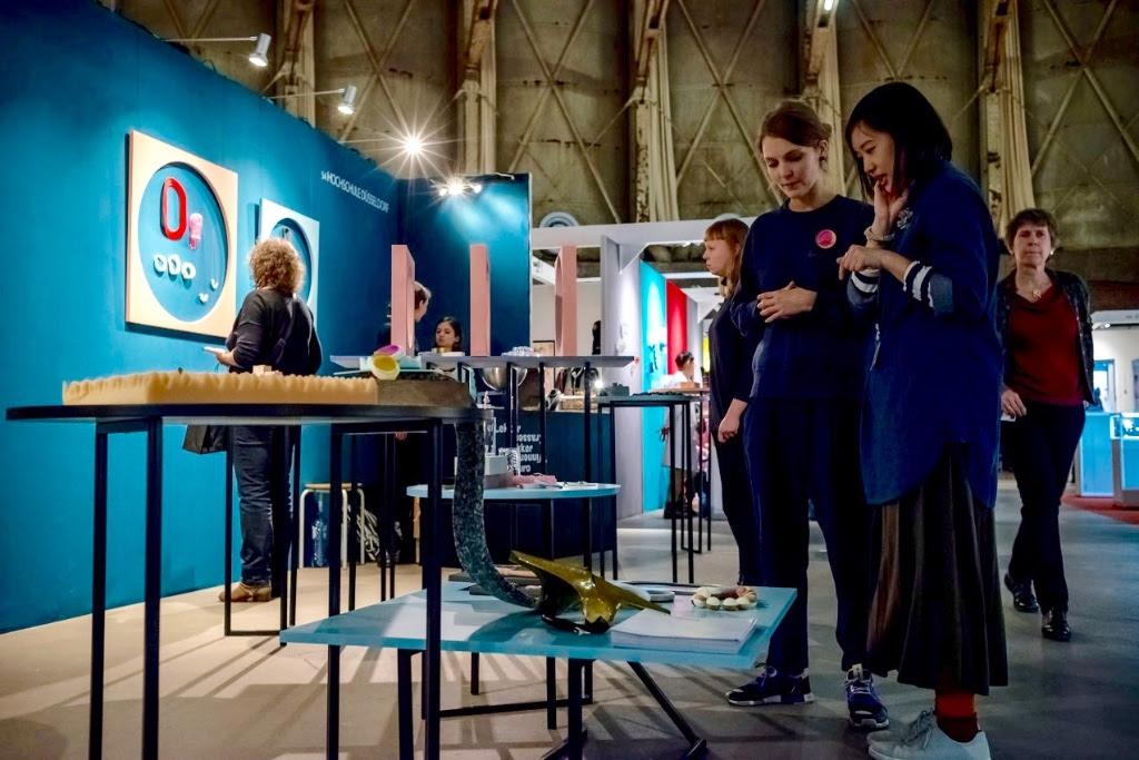 Fachhochschule Düsseldorf, Sieraad Art Fair 2016., foto Arjen Veldt, beurs, Gashouder, Westergasfabriek