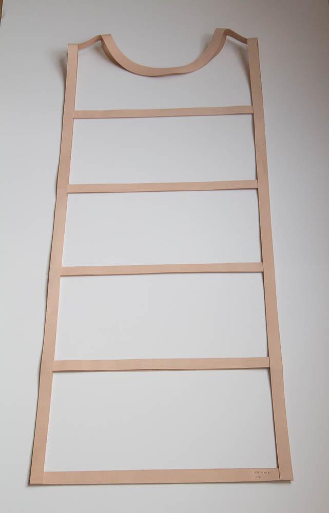 Marit van Heumen, Ladder, 2015, textiel