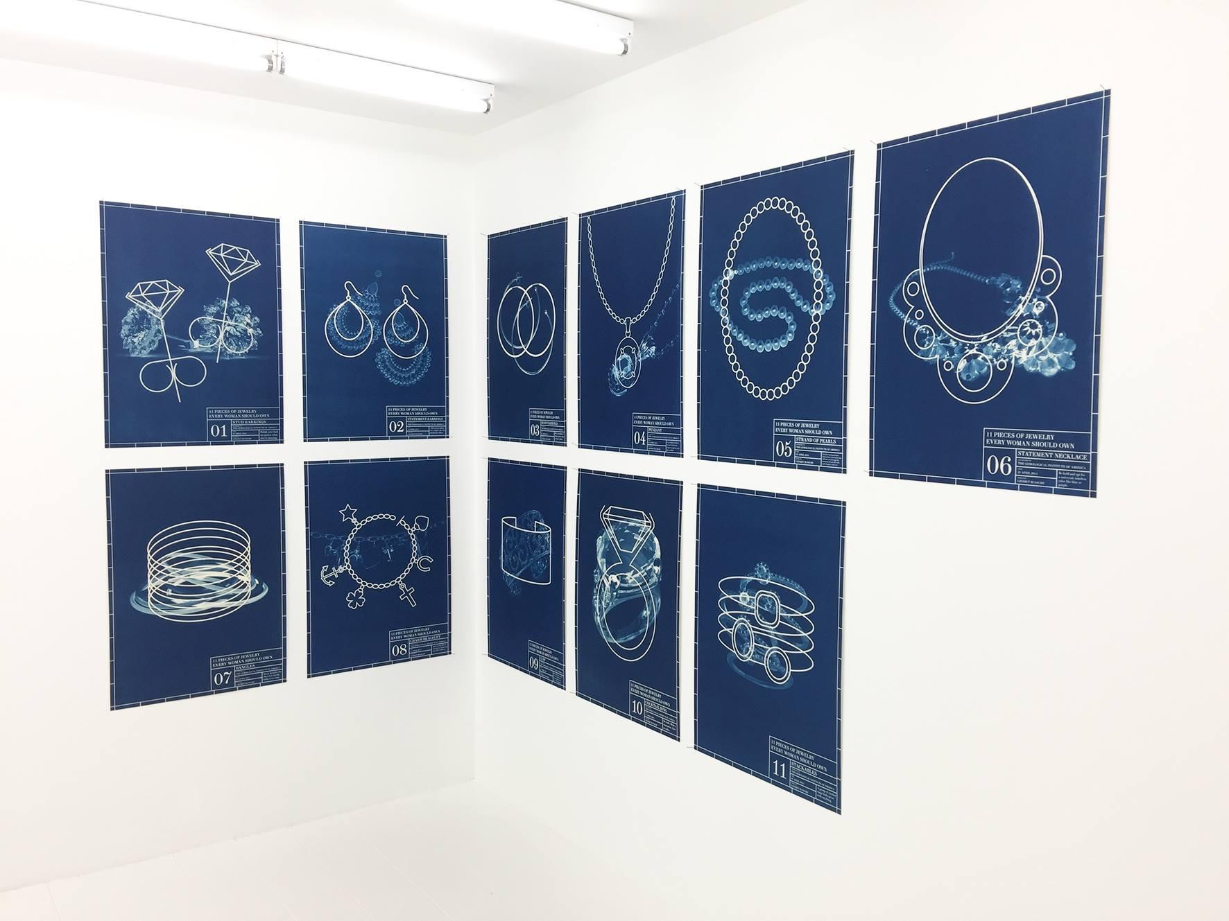 Liesbet Bussche, Galerie Beyond, 2016, tentoonstelling, drukwerk, papier