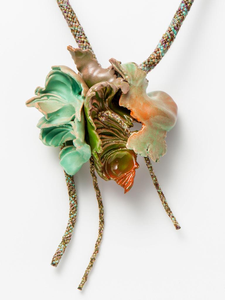 Ineke Heerkens, Autumn Frost, 2013, textiel, keramiek