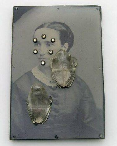 Bettina Speckner, Broche nr. 16, 2007. Collectie Design Museum Den Bosch, metaal, stenen